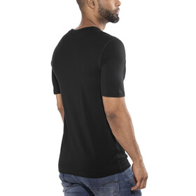 Odlo Natural 100% Merino Warm Crew Neck SS Shirt Men black